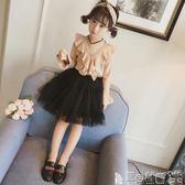 半身裙  女童紗裙半身寶寶網紗蓬蓬裙兒童裝春秋短裙女孩洋氣裙子 寶貝計畫