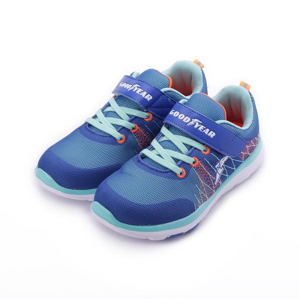GOODYEAR 輕量運動鞋 藍 GAKR88436 中大童鞋 鞋全家福