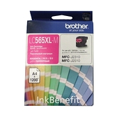 Brother LC565 LC565XL M 原廠高容量紅色墨水匣 適用於J2310/J2510/J3520/J3720