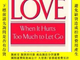 二手書博民逛書店強迫的愛罕見英文原版 Obsessive Love: When