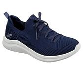 SKECHERS系列-女款寬楦深藍休閒運動鞋-NO.13356WNVY