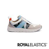 ROYAL ELASTICS Rider 迷彩藍經典運動風輕量休閒鞋 (女) 91191-054