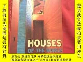 二手書博民逛書店英文原版書罕見Houses of the World (Arch