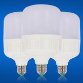 led燈泡家用30W超亮照明室內E27螺口節能球泡暖黃白光源 野外之家