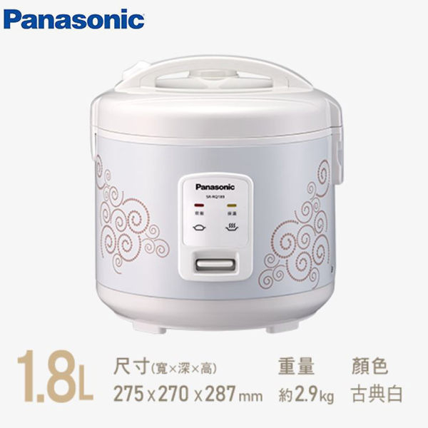 『Panasonic 國際牌』10人份機械式電子鍋 SR-RQ189  **免運費**