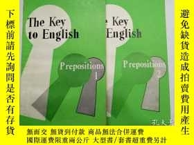 二手書博民逛書店The罕見Key to English:Verbs,Nouns,