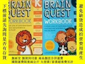 二手書博民逛書店Brain罕見Quest Workbook: Kindergarten K級 1級(2冊合售)Y254853
