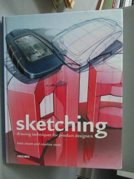 【書寶二手書T9/設計_YJC】Sketching-Drawing Techniques for Product Des