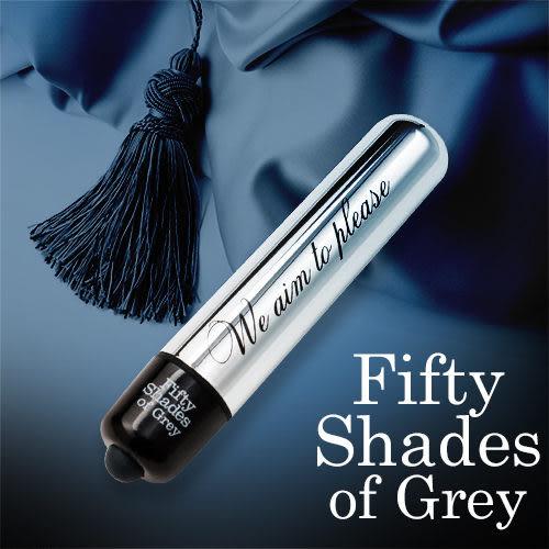 Fifty Shades Of Grey 格雷的五十道陰影 強勁 金屬子彈造型 震動按摩棒 FS40167