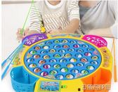 寶寶小貓釣魚小孩玩具池套裝2兒童磁性電動1-3-6歲 益智男孩 古梵希igo