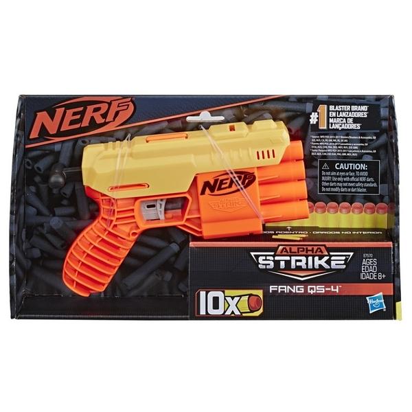 NERF樂活射擊遊戲 ALPHA strike Fang QS-4 毒牙偷襲者 TOYeGO 玩具e哥