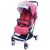 BabyBabe  S116嬰幼兒登機推車-寶石紅