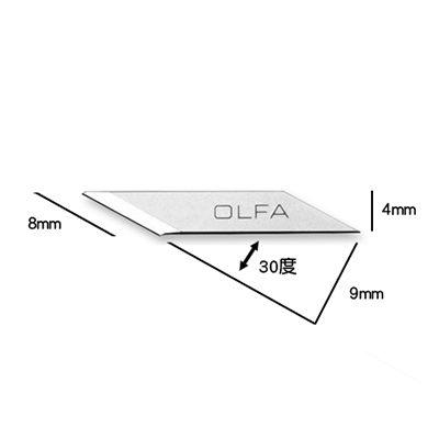 OLFA KB-5/30B 30度筆刀片AK-5用 30片入