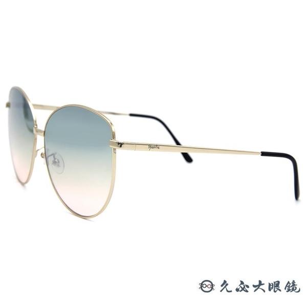 SPEKTRE 太陽眼鏡 MIA Gold (金) 貓眼 綠粉雙色鏡片 墨鏡 久必大眼鏡