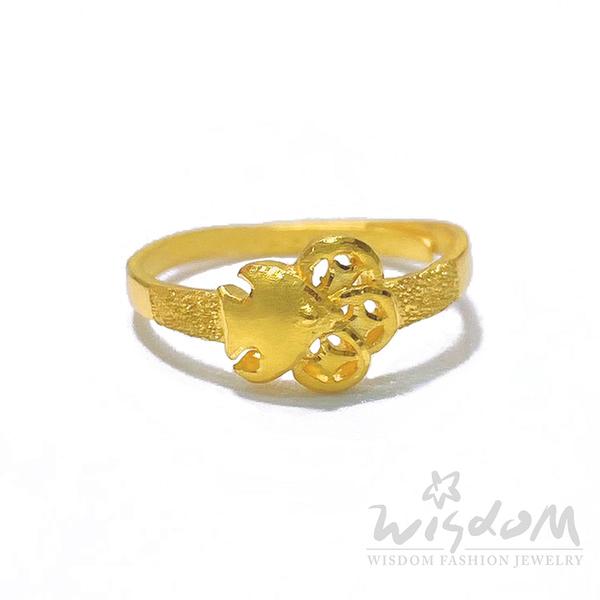 威世登 年年有餘錢黃金戒指 約0.54~0.56錢 GA02513-DEX-FIX