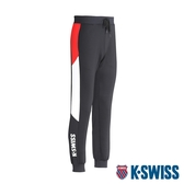 K-SWISS Color Panel Sweatpants運動長褲-男-黑