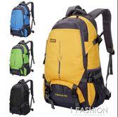 新款戶外超輕大容量背包旅行防水登山包女運動書包雙肩包男25L45L-Ifashion