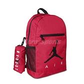 Nike 後背包 Jordan Backpack 紅 黑 男女款 喬丹 手提 雙肩背 運動休閒 【ACS】 JD2113008GS-002