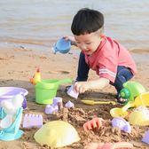 (中秋特惠)兒童沙灘玩具套裝寶寶軟膠鏟子玩沙工具車沙漏決明子玩具沙組合