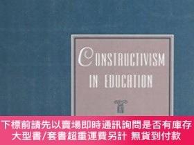 二手書博民逛書店Constructivism罕見In EducationY255174 Leslie P Steffe Rou