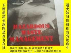 二手書博民逛書店Hazardous罕見Waste Management【硬精装】Y12378 Charles A. Wentz