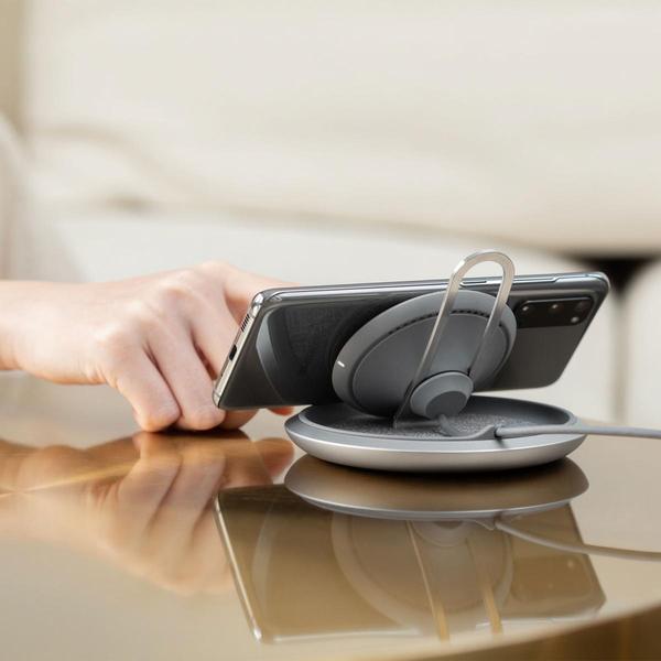 【A Shop】Moshi Lounge Q 直立可調式無線充電盤 For iPhone 12 系列 / 11 系列 / Pro max / Xs / XR / 8 / SE2