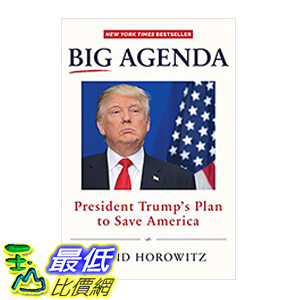 [106美國直購] 2017美國暢銷書 Big Agenda:President Trump's Plan to Save America