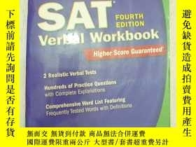 二手書博民逛書店SAT罕見verbal workbookY11893 出版200