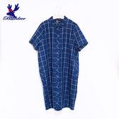 American Bluedeer-開襟格紋洋裝