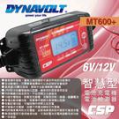 【CSP】MT600+多功能智慧型微電腦自動充電器+檢測器(MT-600+) 6V 12V 電池用