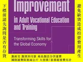 二手書博民逛書店Quality罕見Improvement In Adult Vocational Education And Tr
