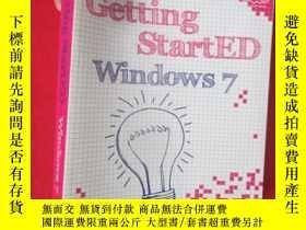 二手書博民逛書店Getting罕見StartED with Windows 7