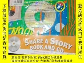 二手書博民逛書店share罕見a story book and cdY12498