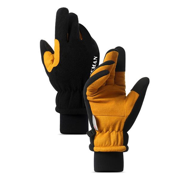 加厚羊羔絨! 保暖 防風 觸控 手套 虎口加固 雙重束口 3M認證 機車手套 防寒手套 『無名』 P10128