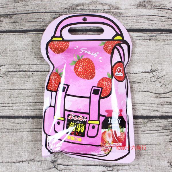 統記 草莓風味蒟蒻果凍200g【0221零食團購】4714431053110