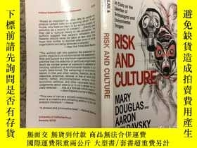 二手書博民逛書店Risk罕見and Culture: An Essay on t