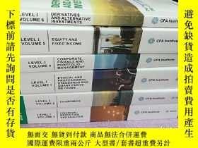 二手書博民逛書店CFA罕見Program Curriculum 2015 (6本