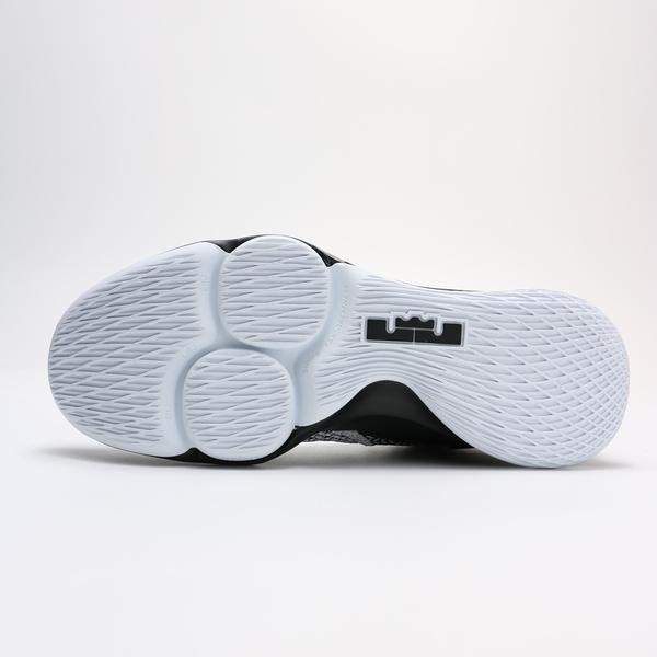 NIKE LEBRON WITNESS IV 4 EP 黑白 耐磨 獅子頭 籃球鞋 男(布魯克林) CD0188-101