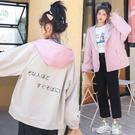 兩面穿工裝外套女2020春秋新款學生韓版寬鬆休閒夾克雙面棒球服潮 依凡卡時尚