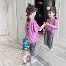 女童夏季套裝 2020款兒童裝韓版短袖T恤中大童洋氣運動網紅兩件套 JX1904『優童屋』