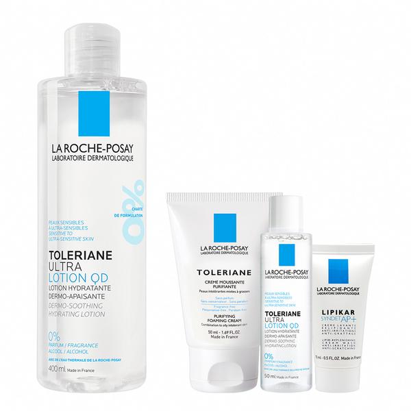 理膚寶水 多容安舒緩保濕化妝水 400ml(QD) 保濕修護組