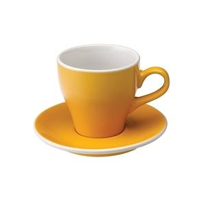 Loveramics Pro-Tulip拿鐵咖啡杯盤組-共8色黃