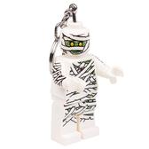 LEGO 樂高經典木乃尹鑰匙圈燈