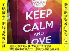 二手書博民逛書店KEEP罕見CALM AND LOVE MATHY12800 T