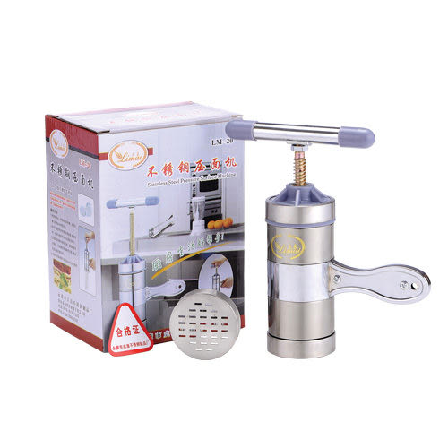 立麥不鏽鋼壓麵機 多功能 手動榨汁機