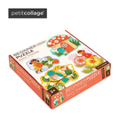 Petit Collage 美國 厚紙類益智玩具 初階拼圖系列-精靈同伴