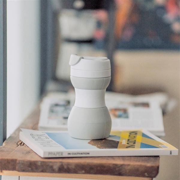【無痕飲食系列】 矽密咖啡杯/歐蕾【仁舟 Zen Zhou】