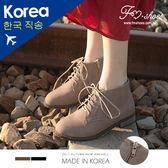 靴.雕花牛津低跟短靴-FM時尚美鞋-韓國精選.Ciao