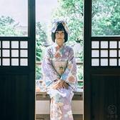 和服清新攝影復古料理店四件套浴衣【小酒窩服飾】