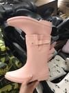 雨靴 雨鞋套鞋水鞋女春夏季韓國時尚可愛碎花卡通防滑橡膠雨靴膠-免運